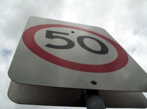50mph speed limit