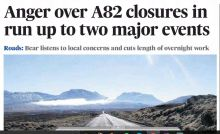 A82 Glencoe Closure