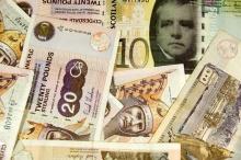 money from scotland background