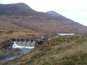 Dam Loch Eilde Mor